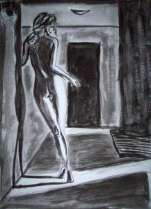 forrest_femme_noir_1_ink_on_paper_12x9_2012